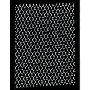 """8200 Flat Pack 3 x 16"""" x 20"""" folded sheets Diamond Mesh Aluminium 14"""