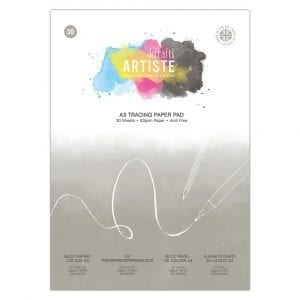 A3 Tracing Paper Pad 63gsm 30 Sheets