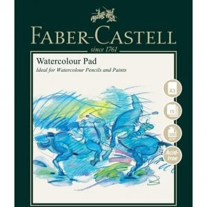 A3 Watercolour Pad 300gsm 10 Sheets - Spiral Bound
