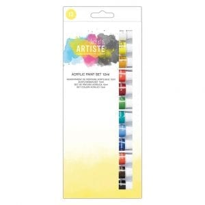 Acrylic Paint Set (12pk) - 12ml