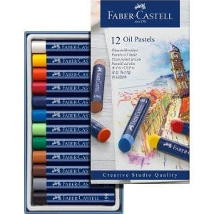 Box of 12 Creative Studio Oil Pastels-2
