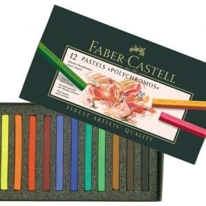 Box of 12 Polychromos Artists' Pastels