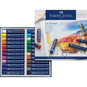 Box of 24 Creative Studio Oil Pastels-2