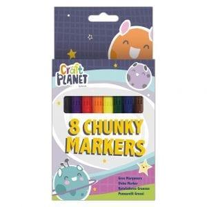 Chunky Markers (8pcs)