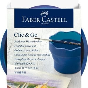 Clic & Go Watercup Blue