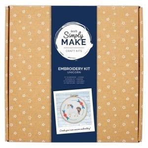 Embroidery Kit - Simply Make - Unicorn