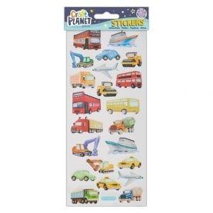 Fun Stickers - Transport