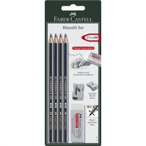 G-pencil Set Goldfaber Sharpener & Eraser
