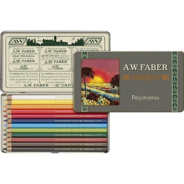 Limited Edition 111th Anniversary - Tin of 12 Polychromos Artists' Pencils 3