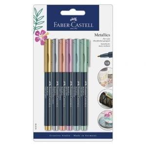 Metallic Marker Blistercard - Full Range of 6 colours
