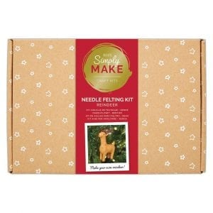 Needle Felting Kit - Simply Make - Reindeer
