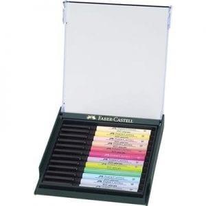 PITT Artist Brush Pen Set of 12 Pastel Tones