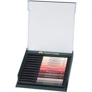 PITT Artist Brush Pen Set of 12 Skin Tones