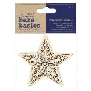 (4pcs) - Bare Basics - Star