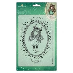 A5 Embossing Folder - Doe Eyed