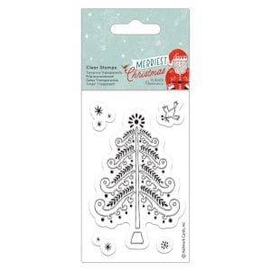 Clear Stamps - Merriest Christmas - Christmas Tree