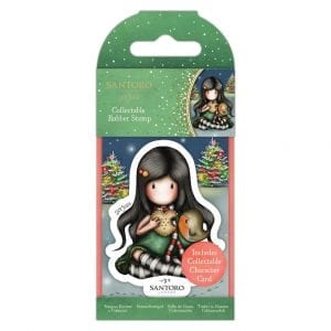 Collectable Rubber Stamp - Santoro - No.81 – Christmas Friend