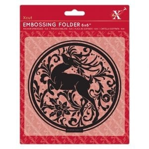 Embossing Folder - Arts & Craft Stag