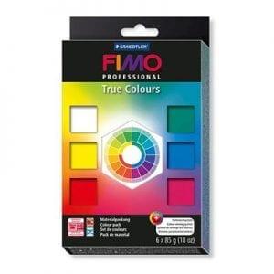 Fimo Professional True Colours Set of 6