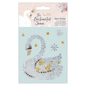 Gem Sticker - The Enchanted Swan