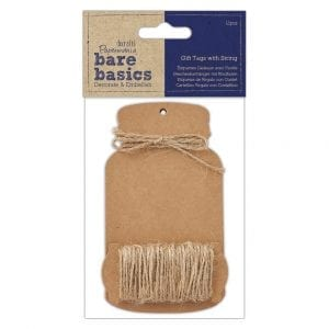 Gift Tags with String (12pk) - Bare Basics - Large Bottle