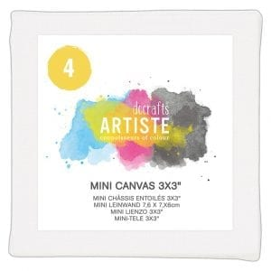 Mini Canvas 3x3 (4pk)