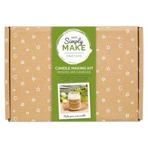 Soy Candle Making Kit (2pk) - Simply Make - Mason Jars