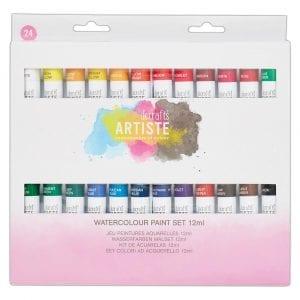 Watercolour Paint Set 12ml (24pk)