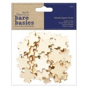 Wooden Jigsaw Puzzle (36pcs) - Bare Basics