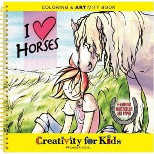 I love horses activity book