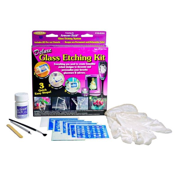 Armour Delux Glass Etching Kit